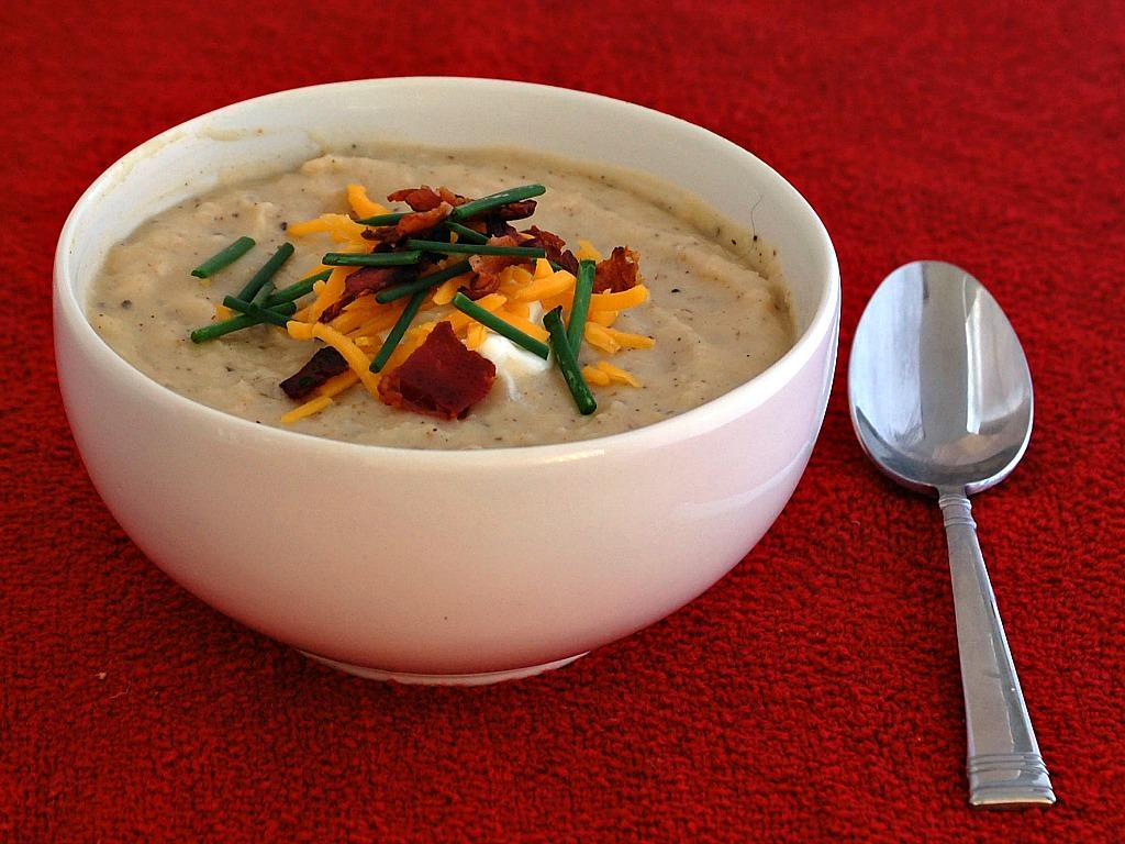 Recipe Swap: Loaded Baked Potato Soup