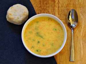 Broccoli Cheddar Soup | The Redhead Baker