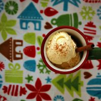 Egg Nog Ice Cream: Week 12 of 12 Weeks of Christmas Treats