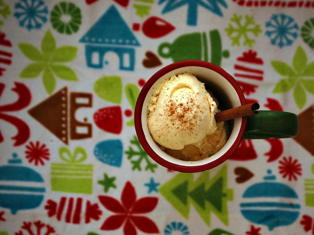 egg nog ice cream 1