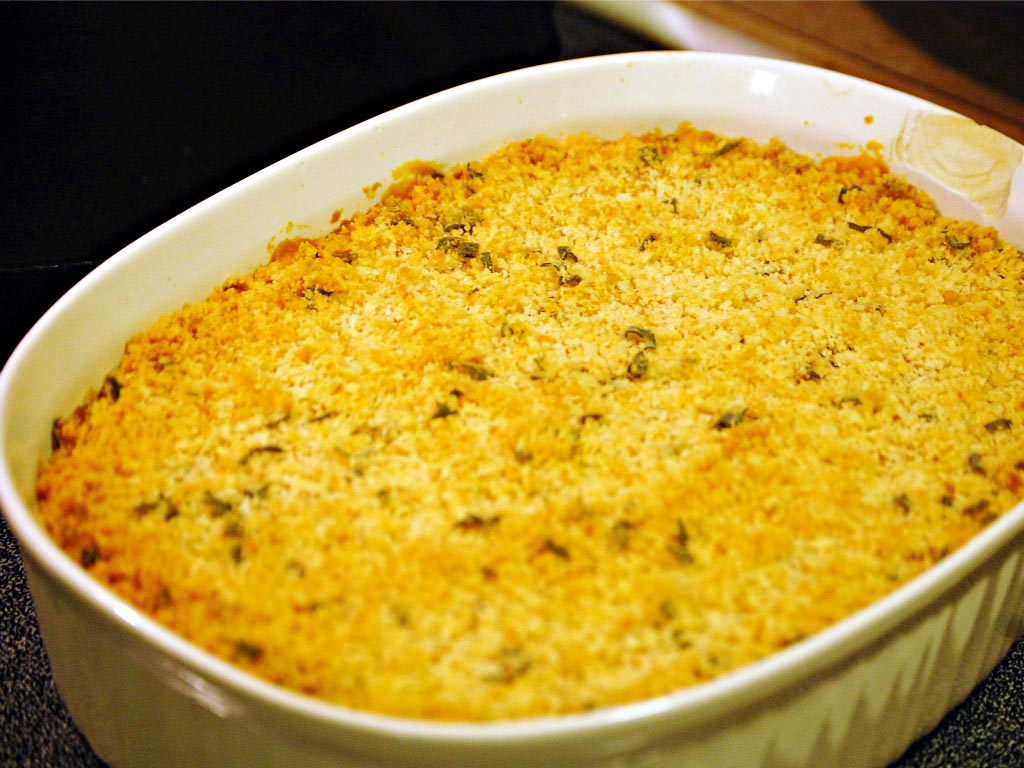 Pumpkin Mac And Cheese The Redhead Baker