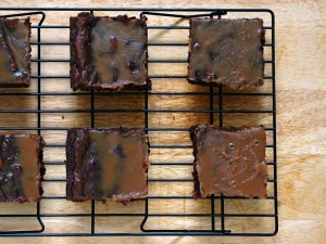 Salted Caramel Brownies | The Redhead Baker