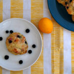 Meyer Lemon and Blueberry Scones