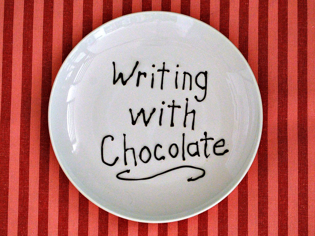 How to Write with Chocolate