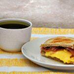 Egg, Brie, and Prosciutto Breakfast Sandwiches