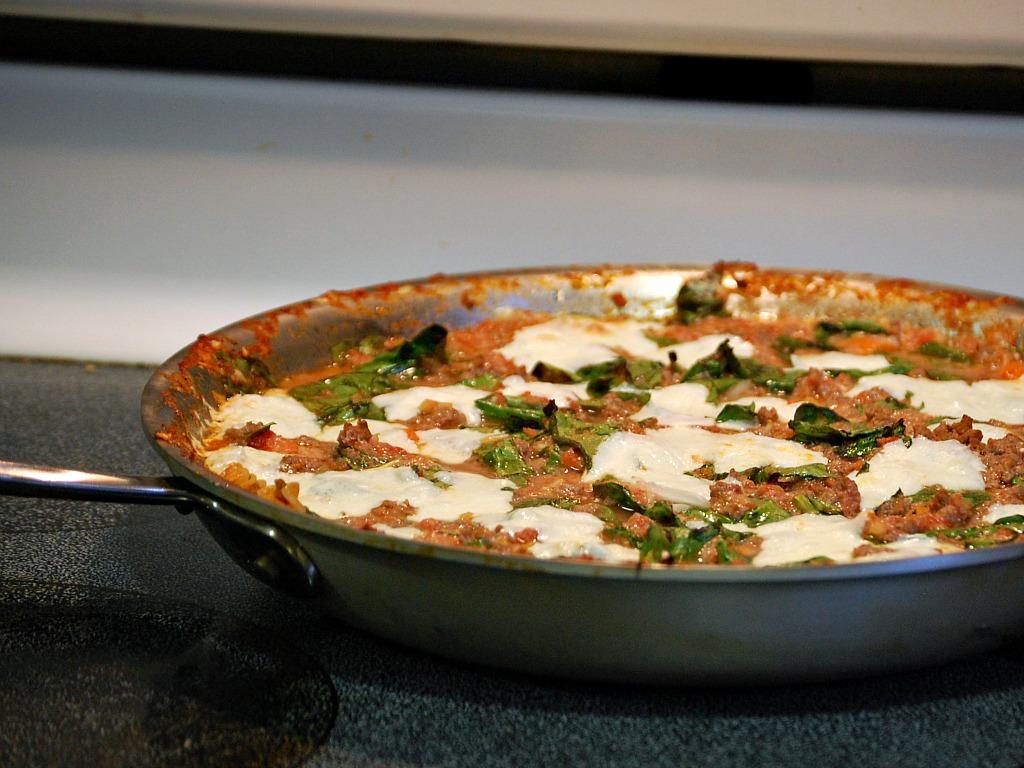 One-Pan Lasagna