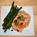 Salmon with Ginger-Lime Sauce