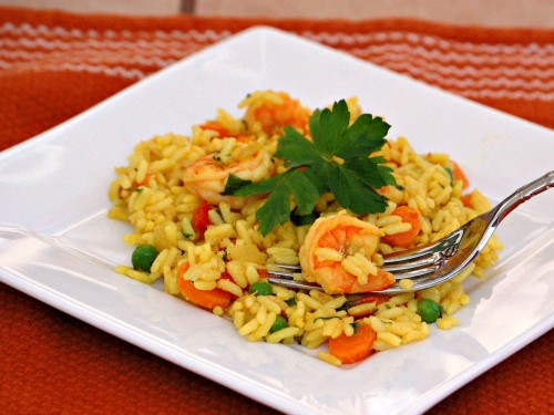 Spanish Shrimp and Rice