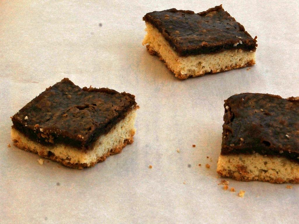 Gooey Nutella Cake Bars