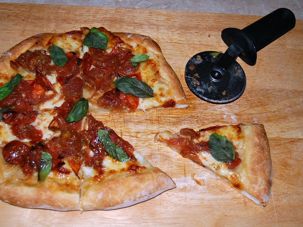 Black Cherry Tomato Pizza