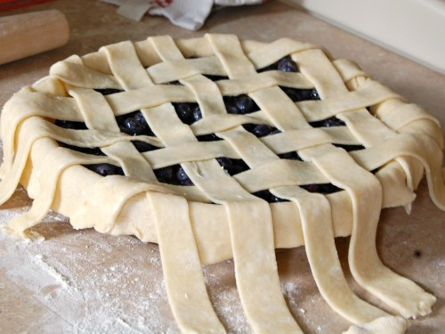 Lattice Pie Crust Instructions