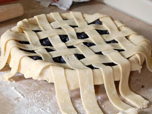 Lattice Pie Crust Instructions