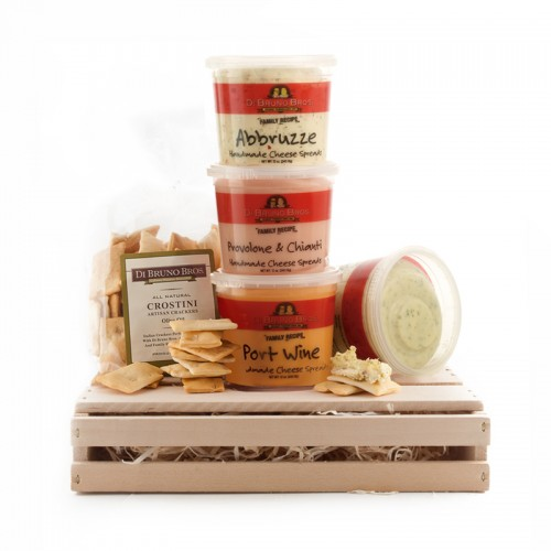 DiBruno Brothers Cheese Spread Gift Basket