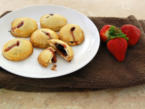 Strawberry #Nutella Hand Pies