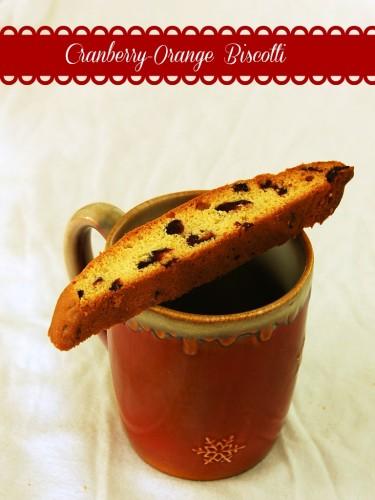 Cranberry-Orange Biscotti #12DaysofCookies
