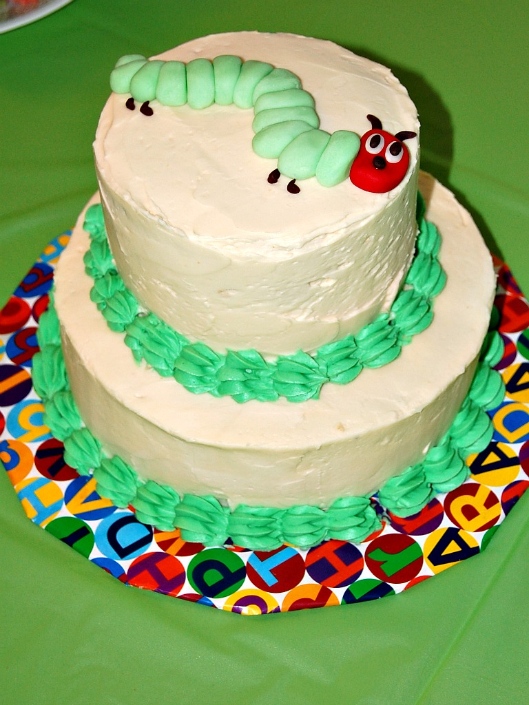 The Very Hungry Caterpillar Party By The Redhead Baker