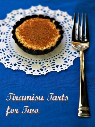 Tiramisu Tarts for Two #whatsbaking