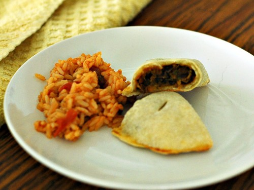 Sweet Potato and Black Bean Empanadas + a cookbook giveaway
