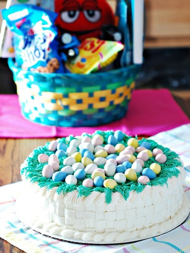 Easter Basket Cake by The Redhead Baker