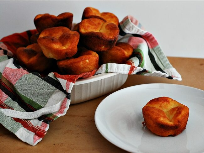 Mini Brioche Rolls by The Redhead Baker