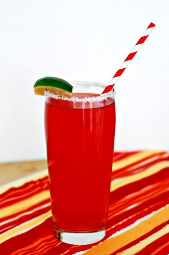 Pomegranate Paloma by The Redhead Baker for #CincoDeMayo