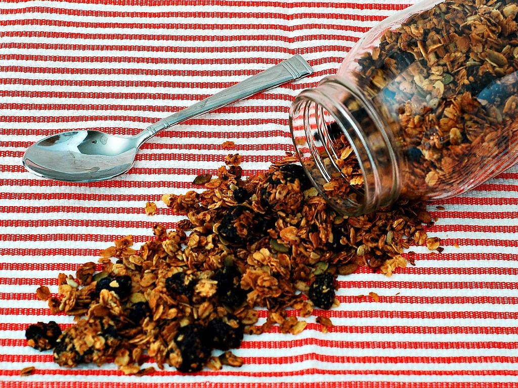 Cherry Berry Nut-Free Granola
