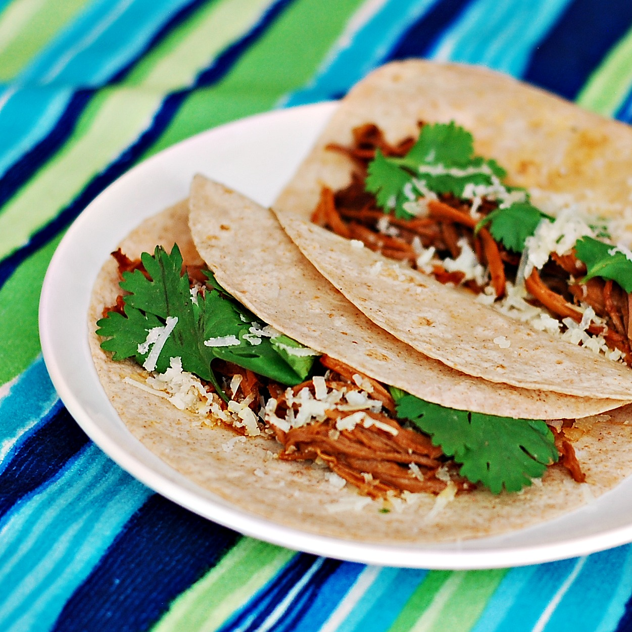Chipotle Honey Lime Pulled Pork Tacos