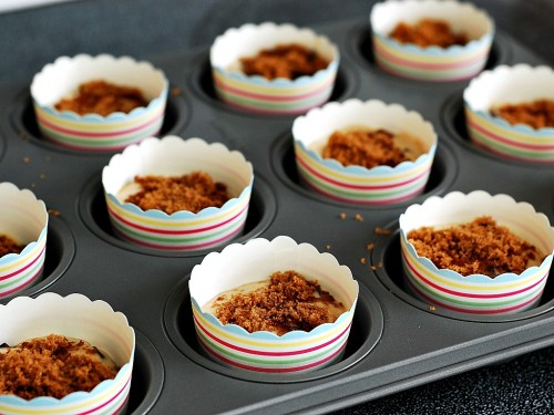 Dark Chocolate Cherry Muffins by The Redhead Baker