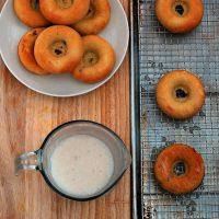 Fresh Peach Donuts {dairy-free}