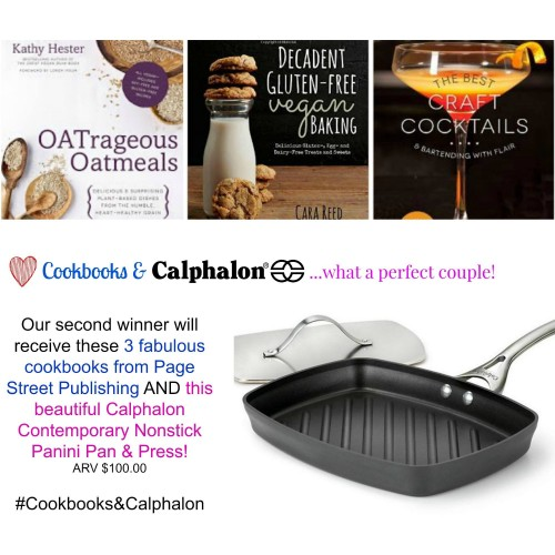 #Cookbooks&Calphalon Second Prize