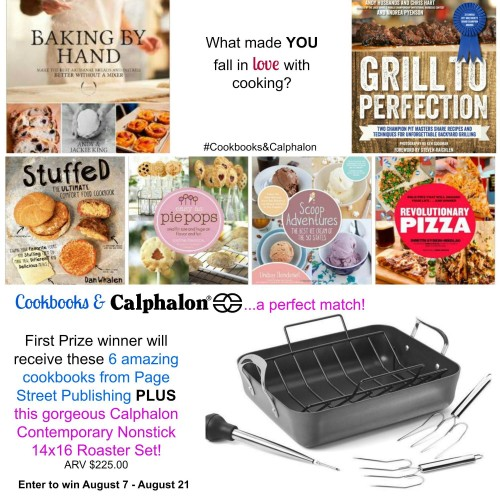 #Cookbooks&Calphalon First Prize