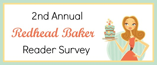 2nd Annual Redhead Baker Reader Survey