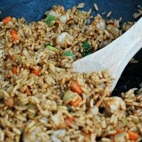 Shrimp Fried Rice #SundaySupper