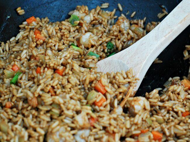 Shrimp Fried Rice #SundaySupper