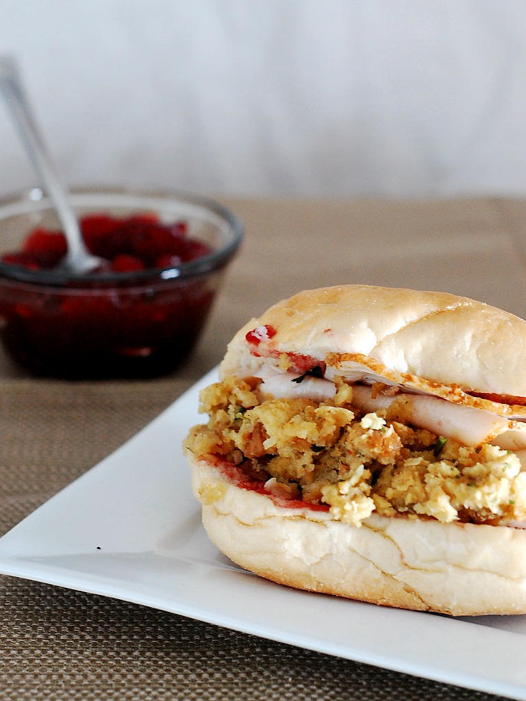 Cranberry and Turkey Sandwiches #SundaySupper by @TheRedheadBaker