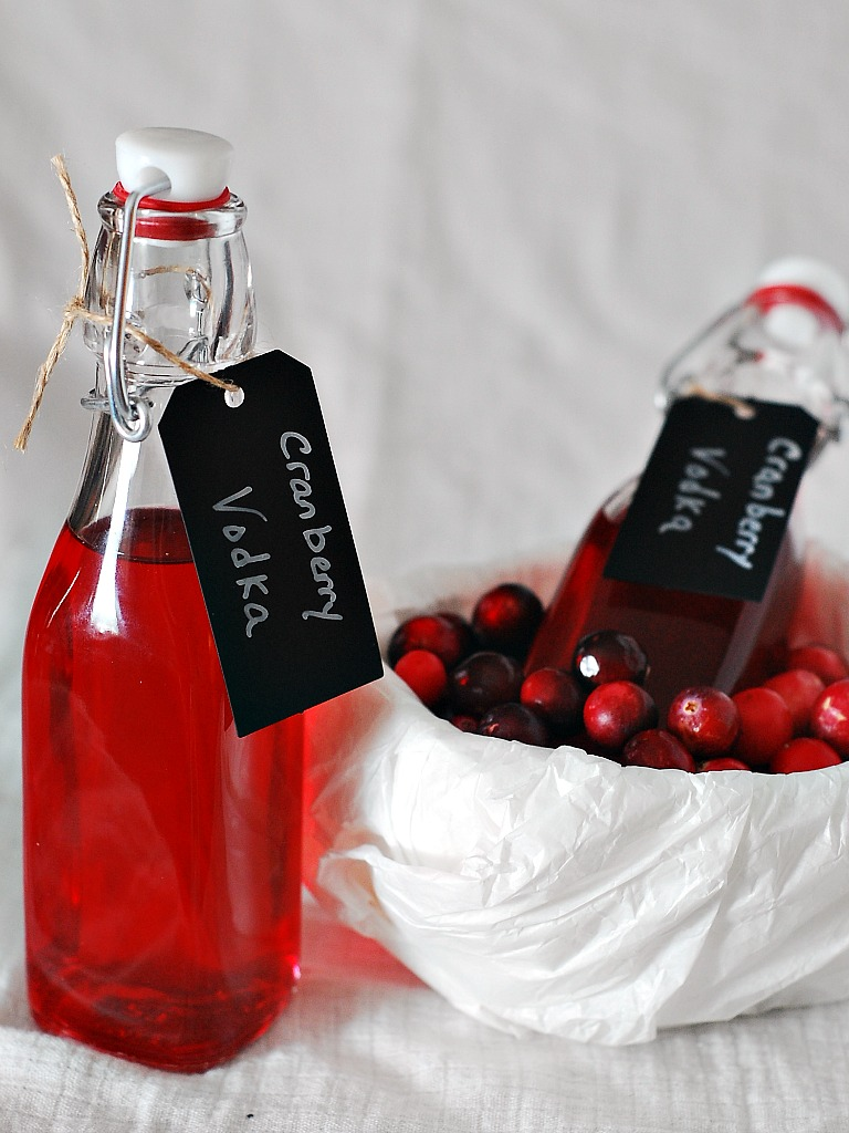 Cranberry Vodka #SundaySupper by @TheRedheadBaker