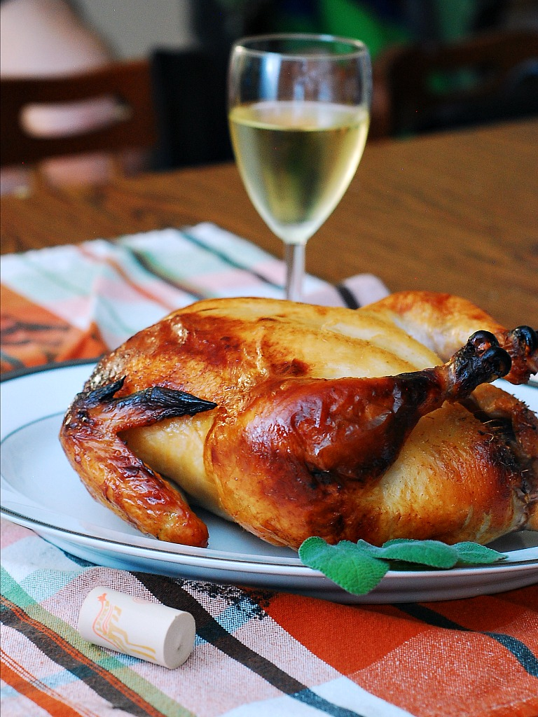 Riesling-Brined Turkey #OXOTurkeyDay by @TheRedheadBaker