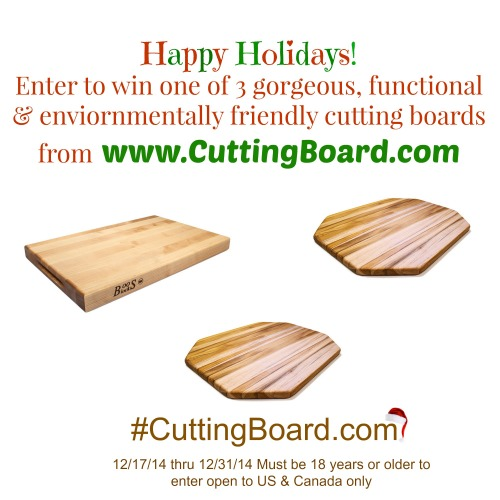 Cutting Board Giveaway