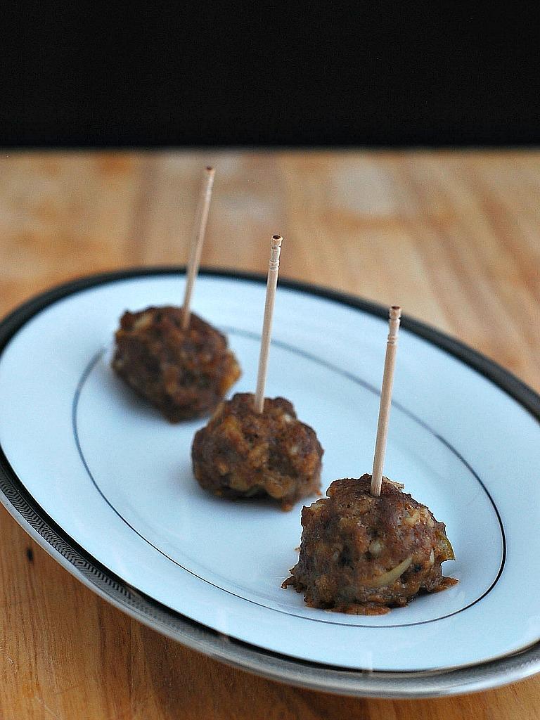 Artichoke and Jalapeño Cocktail Meatballs