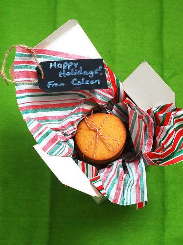 Pumpkin Butter Shortbread Cookies #FBCookieSwap by @TheRedheadBaker