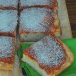 Philadelphia Tomato Pie #SundaySupper | theredheadbaker.com