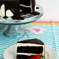 Tuxedo Cake #SundaySupper