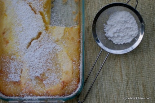 Lemon Bars by My Catholic Kitchen