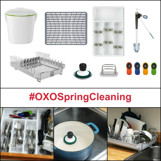 #OXOSpringCleaning | theredheadbaker.com