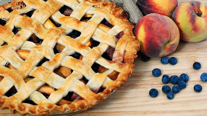 Peach Blueberry Pie By The Redhead Baker