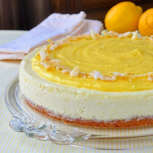 Ultimate Lemon Mousse Cheesecake by Rock Recipes