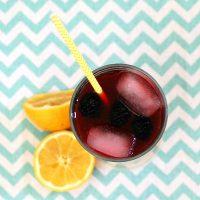 Blackberry Lemonade #SundaySupper