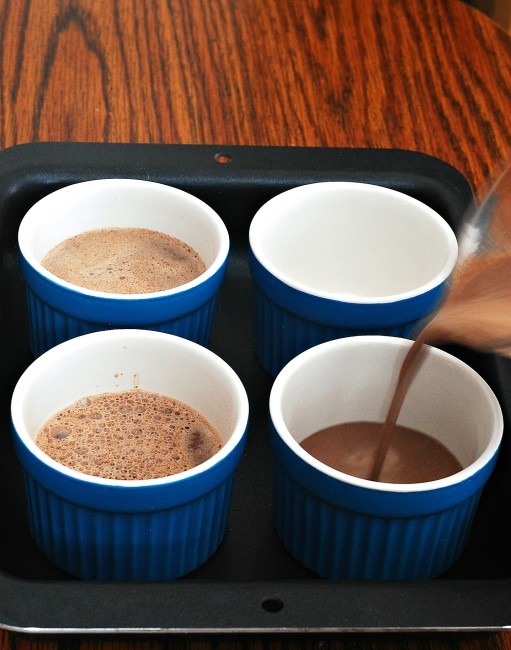 Chocolate Pot de Creme | theredheadbaker.com