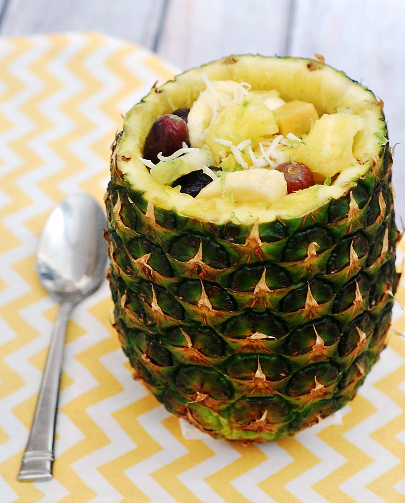 Tropical Fruit Salad #SundaySupper