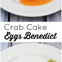 Crab Cake Eggs Benedict #BrunchWeek